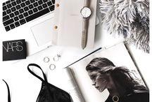 Bag and desktop