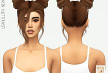 TS4 F CC Hairstyles / The Sims 4 Female Hairstyles
