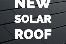 Solar tesla tiles for the roof
