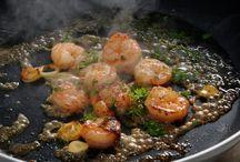Plats crevettes