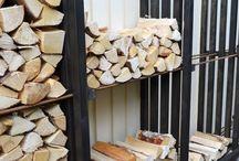 Braai wood storage ideas