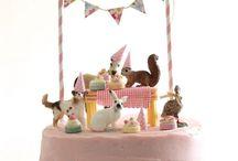 pasteles con animales