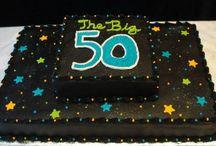 50th bday cake ideas