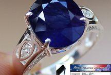 Сапфир кольца