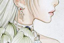 Drawings, illustrations, manga - Rajzok, illusztrációk, mangák