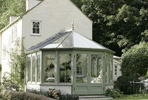 The Castle Sunroom. / Please pin to your hearts content.