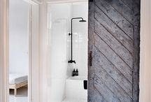 Ideas / Bath sliding door