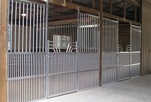 Horse Barn Ideas / Some beautiful horse barns and stables to inspire ideas for your own horse barn.