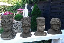 head planters / head planters