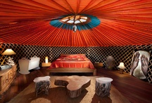 Yurts/Glamping/Treehouses / by Angel Murr