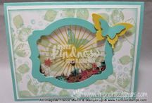 Inspiration - Shaker cards