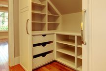 Home - Attic room storage