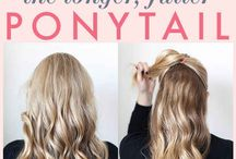 Hairs inspirations and tips