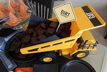 Talon's 3rd Birthday / Can you dig it? Construction Themed party / by Lisa Rakestraw