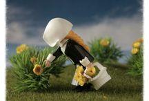 Júnior Art Playmobil / Fotos com Playmobil