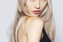 Blonde asians