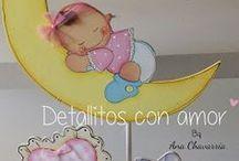 Centros de Mesa para Baby