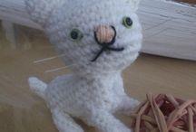 petit chat en amigurumis