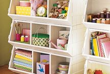 Storage Ideas for kids and home