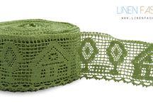 Linen laces