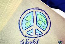 ☮ Peace & Love ♡