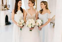 The Sophia Collection / The Sophia Collection features soft, fluffy peonies & roses in shade of white, ivory & blush creating a romantic, timeless look. This collection is made up of a variety of white & blush roses and peony buds, with gray dusty miller leaves.