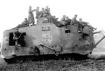 A7V German WW1 Tank