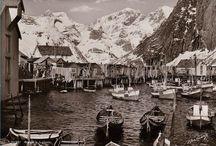 Fiskebåter Norge Postkort Bilder-Fishingboats Norway / Båter Fiske Sjø Hav