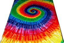Tie Dye Bedding / Tie dye bedding sets from the Tie Dyed Shop.