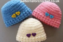 crochet baby hats and beanies