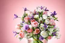 Fleurop * Lieblingswerkstücke / Die schönsten Blumensträuße des Monats: Unsere Lieblingswerkstücke.