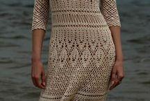 Вязание крючком. Платья и юбки.