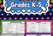 5th grade / by Berenice Benson