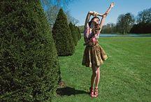Garden Fashion Shoot