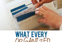 Organize It! / by Liz Morgan/Tuggle