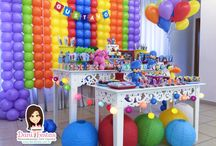 Festa Pocoyo / Festas Criativas e Personalizadas você encontra aqui. Procurando fofuras para a sua festa? Na nossa loja tem! http://danifestas.com.br/