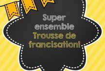 Francisation / Ressources, site web, jeux pour faciliter l'enseignement en classe de francisation