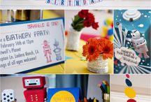 Party Theme.Robot