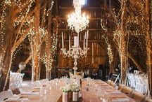Wedding decor, reception