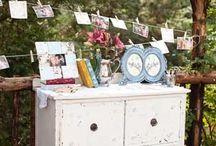 Stall Styling Inspiration / Wedding fair stall styling inspiration. Display and styling ideas.