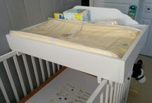 baby bed changing table
