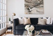 Living Room Decor / Decorating ideas for the living room and family room.