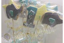 1yaş kurabiyesi / 1yaş doğumgünü kurabiyeleri
