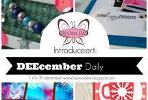 DEEcember Daily 2015 / Elke dag inspiratie voor de decembermaand.
