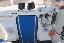 SeaSucker - Electronic Mounts / Board showcasing the SeaSucker vacuum mounts used to attach marine electronics