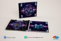 Pochette CD, DVD, blu ray / Des propositions de modèles.