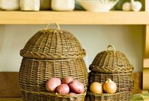 Baskets / For storage, fun and decoration.