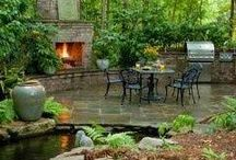 Backyards, Gardens, Ponds and Pools