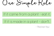 Our  Favourite Health & Wellness Quotes / A collection of some of our fave health, wellness, food & edible garden quotes!