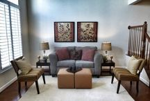 Staged Interior's Living Rooms